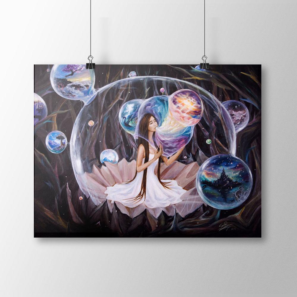 Her Favorite Swing   Serene Illustrations
